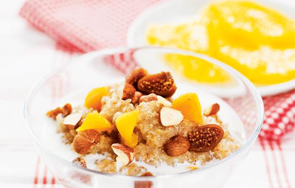Ladda med en nyttig frukost