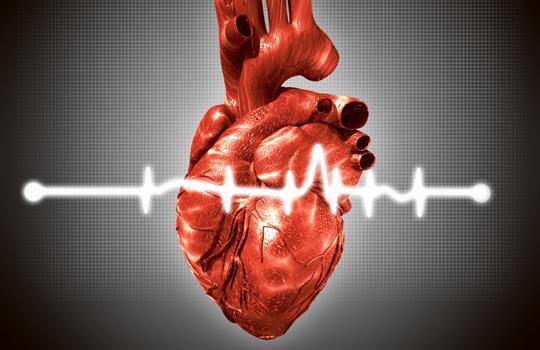 hjärtat slår snabbt