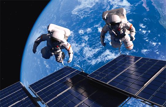 Astronautträning för strokepatienter
