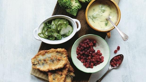 Recept-på-krispig-strömming-från-Den-blå-maten