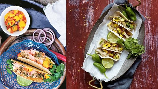 Två tacostips på stjärnkockars vis