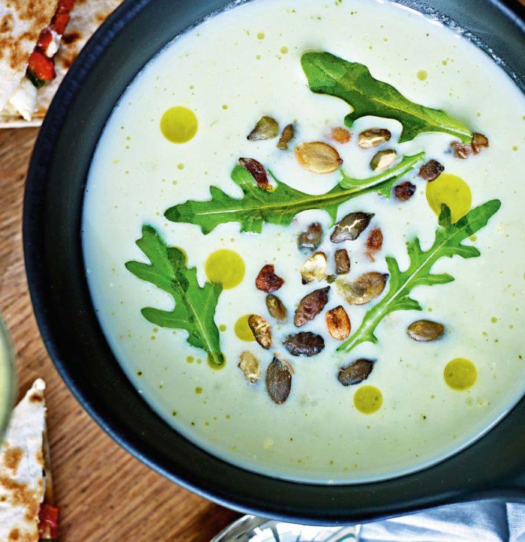 Vardagsmat –smakrik broccolisoppa med quesadilla