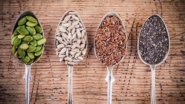 4 nyttiga frön som boostar din hälsa