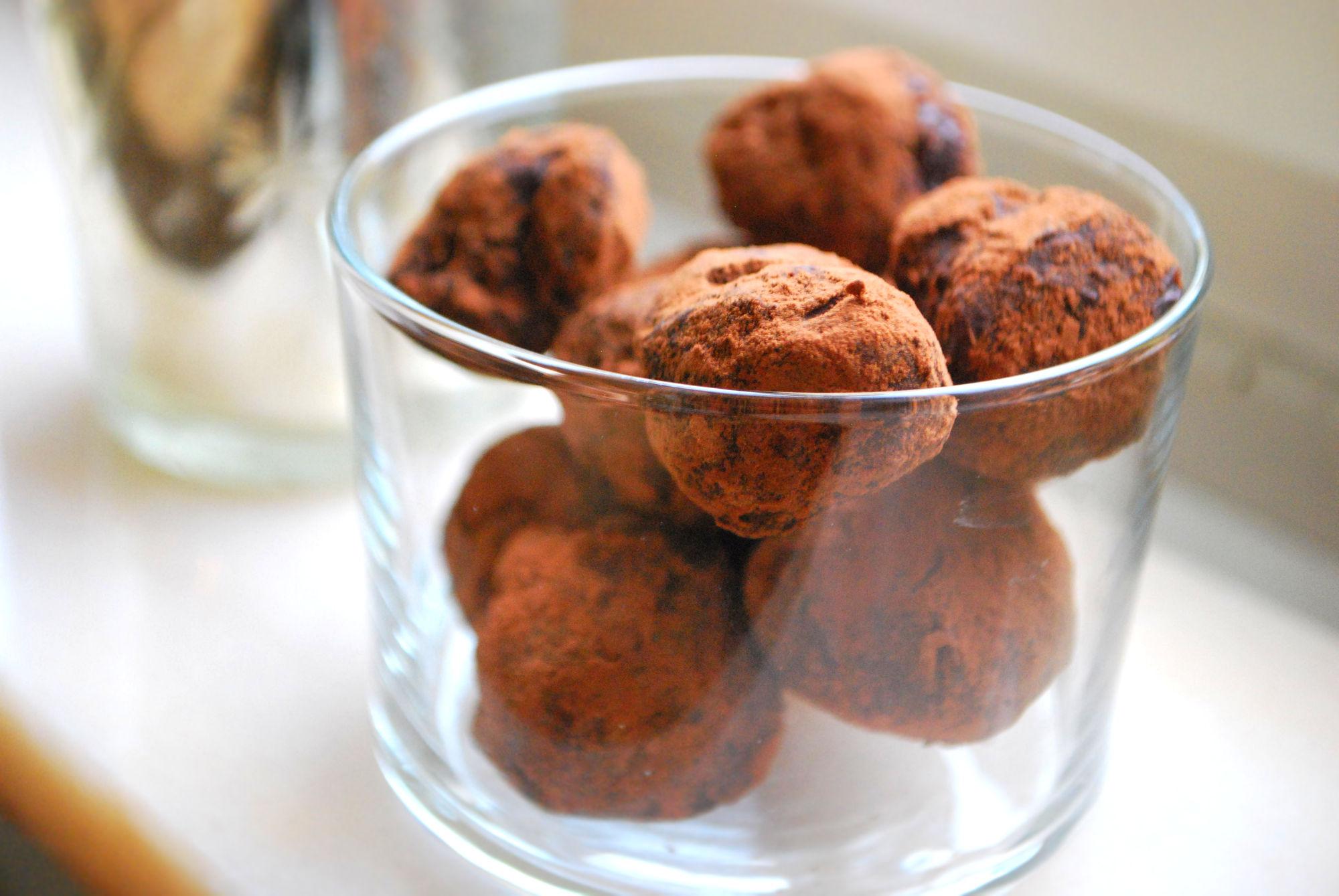 Den perfekta gåvan – Chokladtryfflar