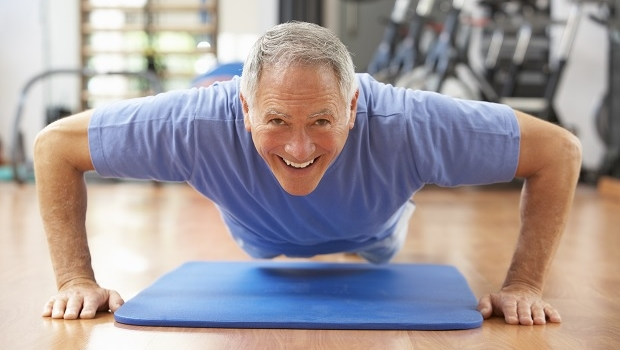 Behåll musklerna på äldre dar