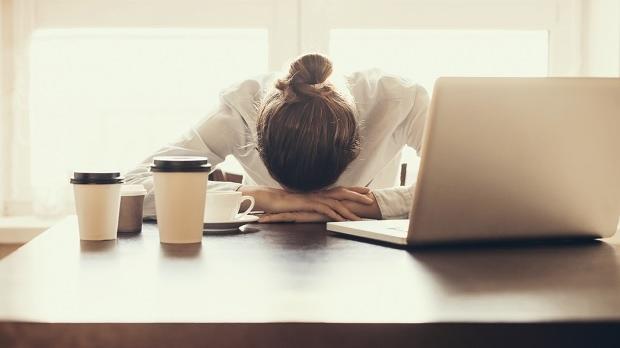 Stressade personer behöver sova mer